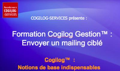 Troisième tuto Cogilog Gestion